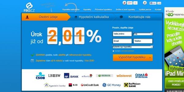 Hypoteční srovnání nabídek na wwwkalkulacka-hypotekacz Americká
