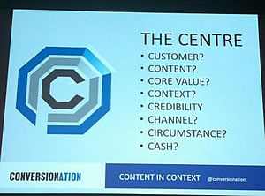 The center of context – picture via Lobke Heisen