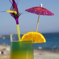 umbrella cocktail