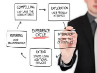 The user and customer experience cycle