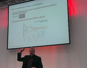 Dion Hinchcliffe at CeBIT 2014 - picture J-P De Clerck