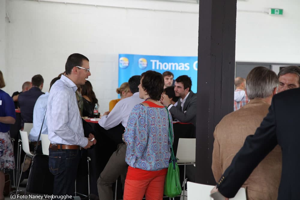 Before the start of the Social Business Sessions by i-SCOOP – picture Nancy Verbrugghe