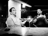 Brian Solis - left - and Olivier Blanchard - right - the evening before the event