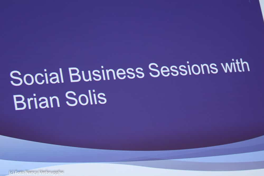 Social Business Sessions with Brian Solis by i-SCOOP