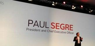 Genesys CEO Paul Segre at GForce 15 - via Twitter