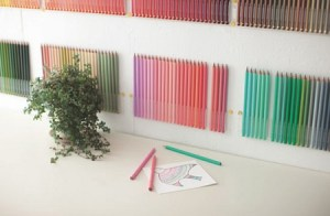 Самый большой набор цветных карандашей