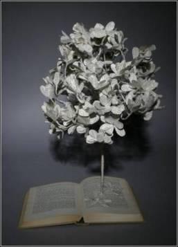 Декоративное искусство вырезания из книг. Книжное искусство Сью Блэквелл