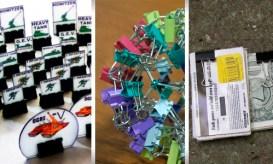 Огромная галерея идей, что можно сделать из зажимов для бумаг
