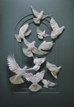 Галерея животных из бумаги от Кэлвина Николлса