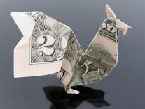 Галерея оригами из долларов (2)