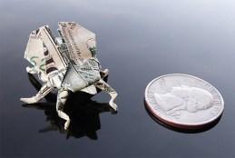 Галерея оригами из долларов (13)