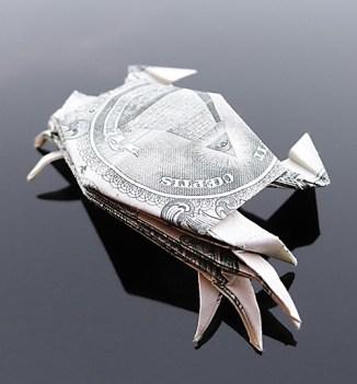 Галерея оригами из долларов (10)