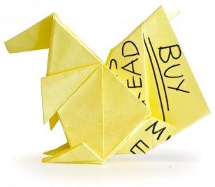Стикеры с оригами Origami Sticky Note Pads (3)