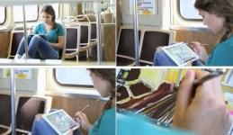 Электронная кисть Sensu Brush для рисования на iPad (1)