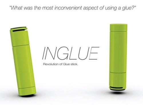 Концепт клея-карандаша InGlue