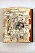 Галерея работ по вырезанию из книг Брайана Диттмера (1)