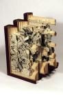 Галерея работ по вырезанию из книг Брайана Диттмера (13)