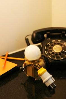 Игрушки-гаджеты Kinetic Robot для офисного стола (3)