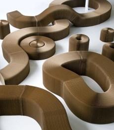 Универсальная мебель molo из ткани и бумаги для любого интерьера (7)