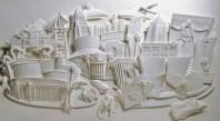 Поделки своими руками из бумаги: скульптуры Джефа Нишинаки (18)