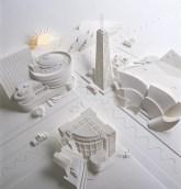 Поделки своими руками из бумаги: скульптуры Джефа Нишинаки (24)