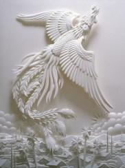 Поделки своими руками из бумаги: скульптуры Джефа Нишинаки (21)
