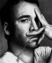 Современное искусство: фотореалистичные картинки знаменитостей карандашом (4)