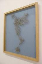 Карты мира, созданные из булавок (3)