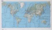 Карты мира, созданные из булавок (2)