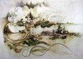 Современное искусство: объемные картины от Грегори Эвклида (9)
