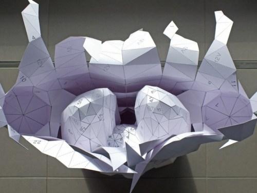 Бумажное анатомическое пособие от Хорста Кихле (1)