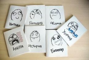 Краткий обзор креативных школьных тетрадей (1)