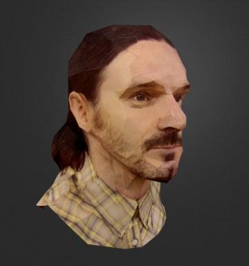 Бумажные 3D-портреты