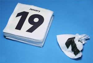 Stas Aki. Napkins Calendar