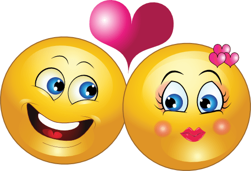 Love Cute Couple Wallpaper Download Lovely Couple Smiley Emoticon Clipart I2clipart