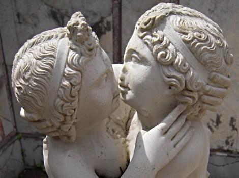 Amor und Psyche in Ostia Antica