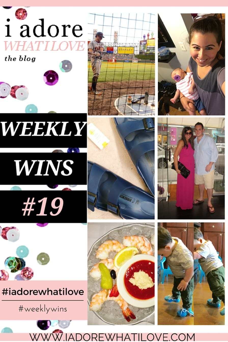 I Adore What I Love Blog // WEEKLY WINS #19 // www.iadorewhatilove.com #iadorewhatilove