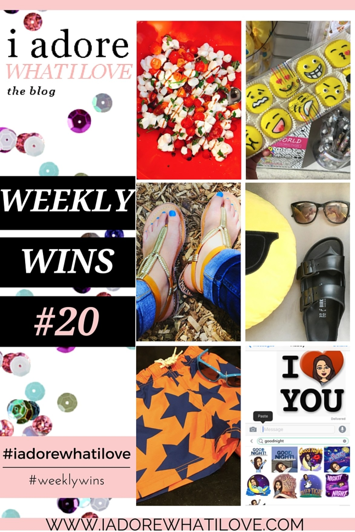 I Adore What I Love Blog // WEEKLY WINS #20 // www.iadorewhatilove.com #iadorewhatilove