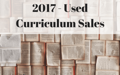 2017 Used Curriculum Sales