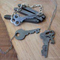 Metal Stamped Vintage Key Jewelry – Stamping GIVEAWAY