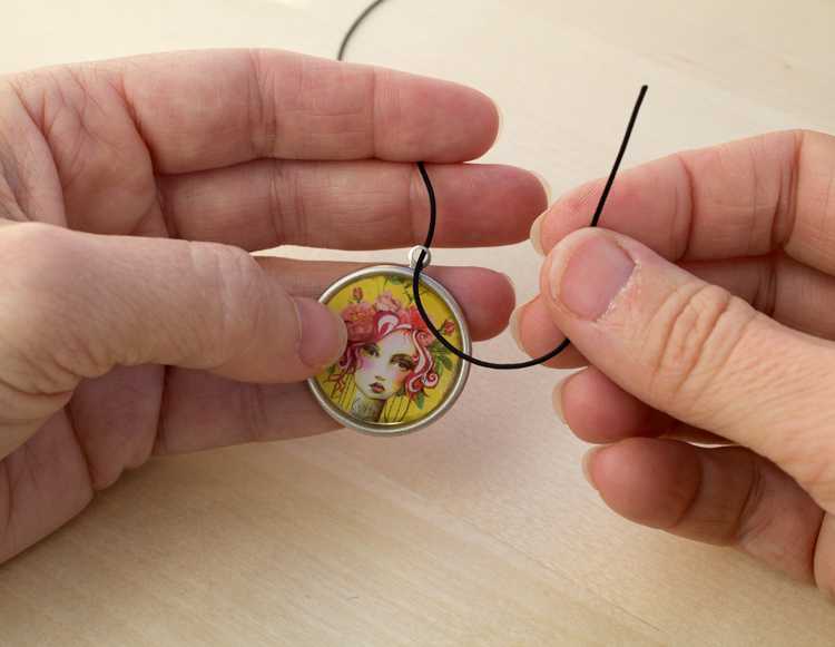 ice resin bookmark thread the knotting cord