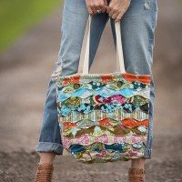 Memory Lane Quilted Tote Sewing Pattern