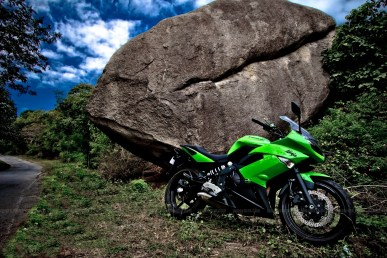 Kawasaki Ninja 650R wallpapers 08 IAMABIKER