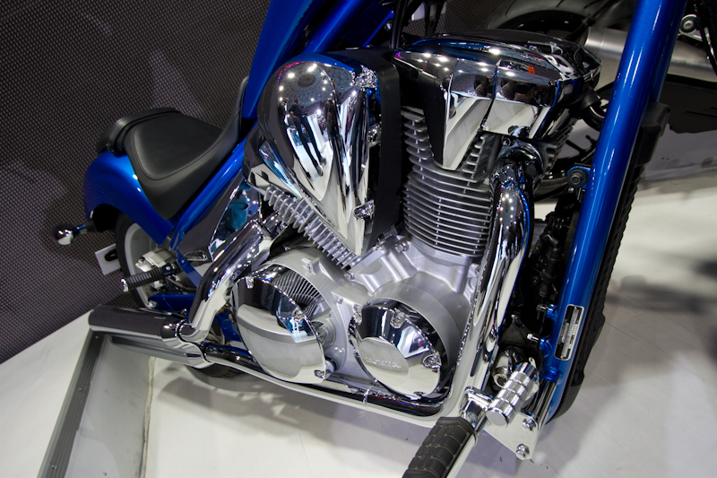 Honda Motorcycles Auto Expo 2012 India -48