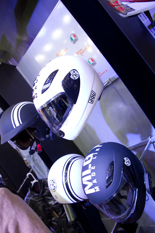 Royal Enfield Riding gears Auto Expo 2012 India -7