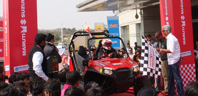 Polaris India conquers the Desert Storm Rally 2012 polaris india polaris desert storm polaris desert storm rally 2012