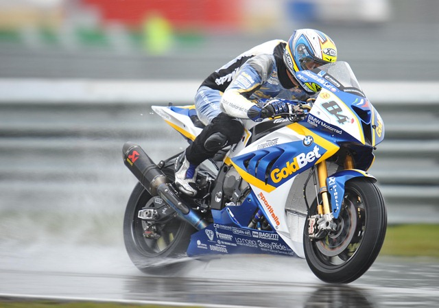WSBK 2012 Assen BMW Motorrad Italia GoldBet Superbike Team Saturday report
