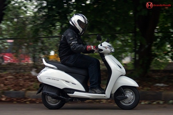 honda activa review - engine and performance