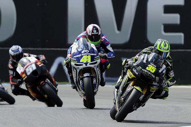 MotoGP 2012 Assen Tech3 Yamaha race day report