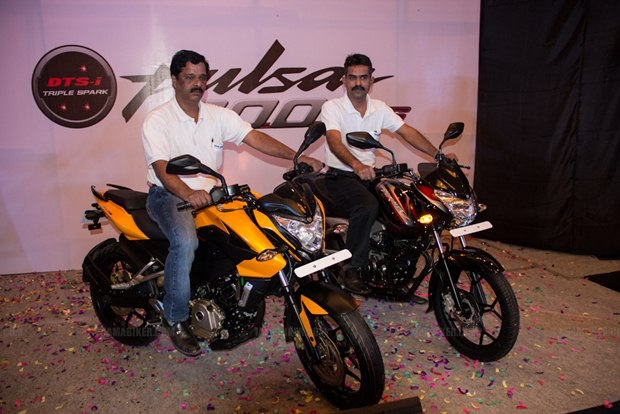 Pulsar 200NS launched in Bangalore